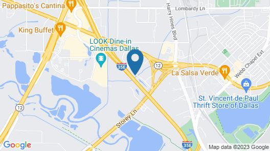 OYO Townhouse Dallas Love Field Airport Map