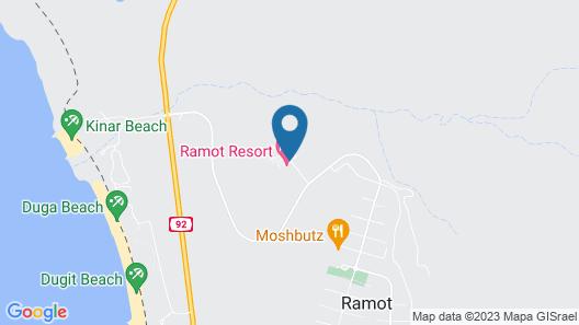 Ramot Resort Hotel Map
