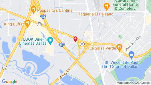 Baymont by Wyndham Dallas/ Love Field Map