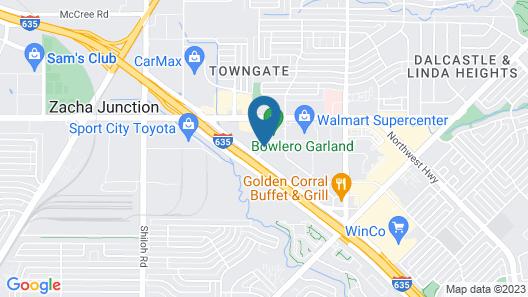 Microtel Inn & Suites by Wyndham Garland/Dallas Map