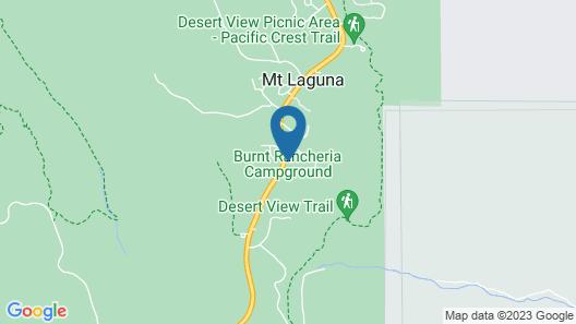 Tiny House Retreat in Mount Laguna Map