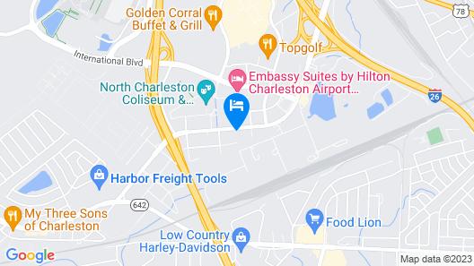 Tru by Hilton Charleston Airport Map