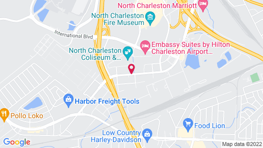 Home2 Suites by Hilton Charleston Airport/Convention Center Map