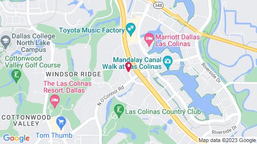 Holiday Inn Irving Las Colinas, an IHG Hotel Map