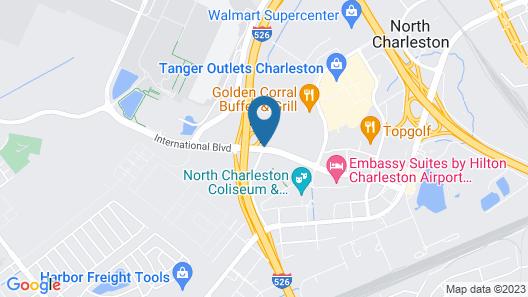 Hilton Garden Inn Charleston Airport Map