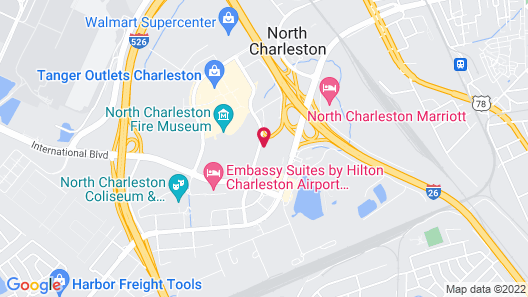 Aloft Charleston Airport & Convention Center Map