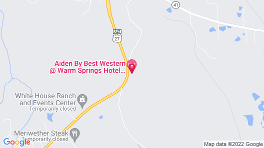 Aiden by Best Western @ Warm Springs Hotel and Event Center Map