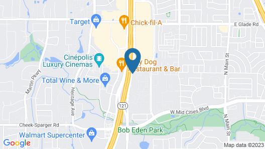 La Quinta Inn & Suites by Wyndham DFW West-Glade Parks Map