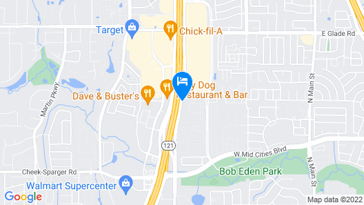 La Quinta Inn & Suites by Wyndham DFW West-Glade Parks Map