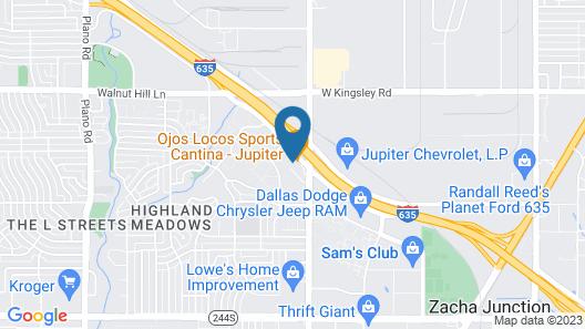 Siegel Select Dallas Map