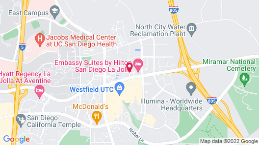 Embassy Suites by Hilton San Diego - La Jolla Map