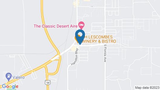 Motel 6 Alamogordo, NM Map