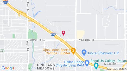 Holiday Inn Express & Suites Dallas Northeast - Arboretum, an IHG Hotel Map