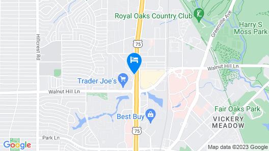La Quinta Inn & Suites by Wyndham Dallas North Central Map
