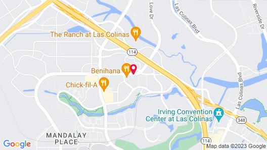 Wingate by Wyndham Dallas / Las Colinas Map