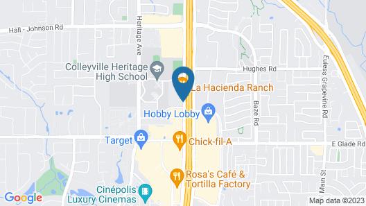 Hampton Inn & Suites Colleyville DFW Airport West Map