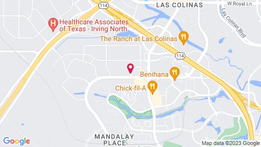 Sonesta ES Suites Dallas - Las Colinas Map