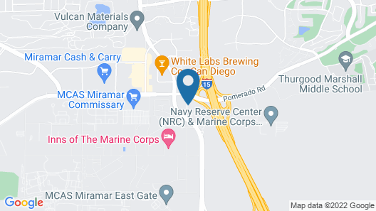 Holiday Inn San Diego North Miramar, an IHG Hotel Map