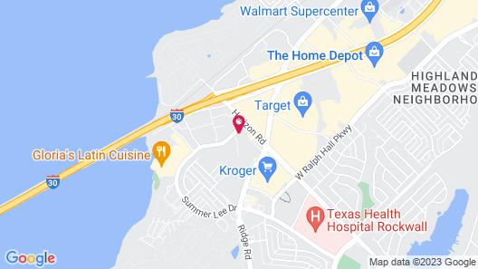Tru By Hilton Rockwall Dallas, TX Map