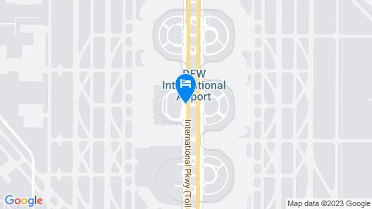 Grand Hyatt DFW Map