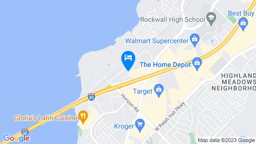 Hyatt Place Dallas/Rockwall Map