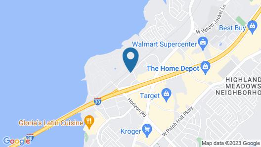 Hampton Inn Dallas-Rockwall Map