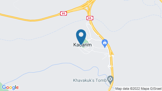 Kadarim Country Cottages Map