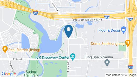 DoubleTree by Hilton Hotel Dallas - Farmers Branch Map