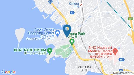 VILLA TERRACE OMURA HOTELS & RESORTS Map