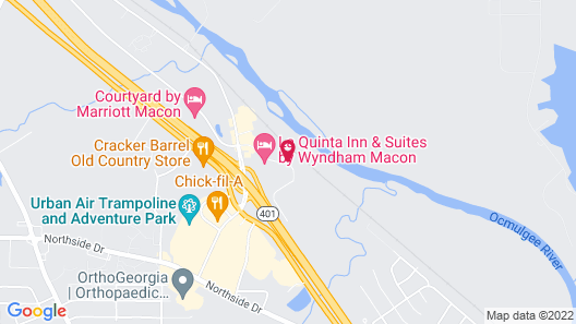 Holiday Inn Macon North, an IHG Hotel Map