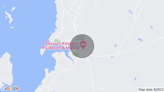 Lake Home on Possum Kingdom Lake Map