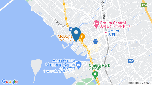 Nagasaki International Hotel Map