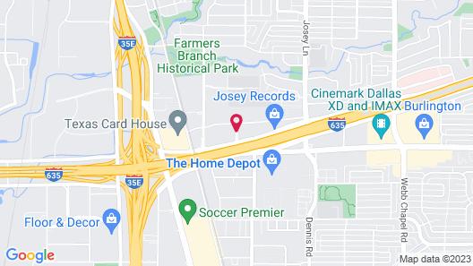 Wyndham Garden Dallas North Map