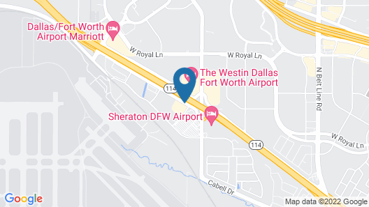 Holiday Inn Express & Suites Irving Dfw Airport North, an IHG Hotel Map