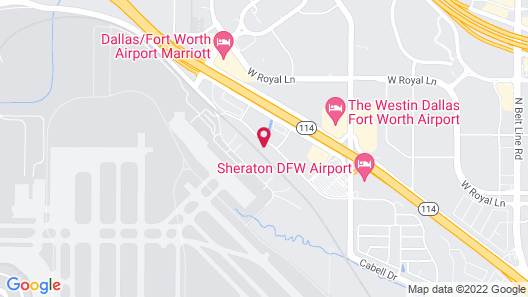 TownePlace Suites by Marriott Dallas DFW Airport North/Irving Map