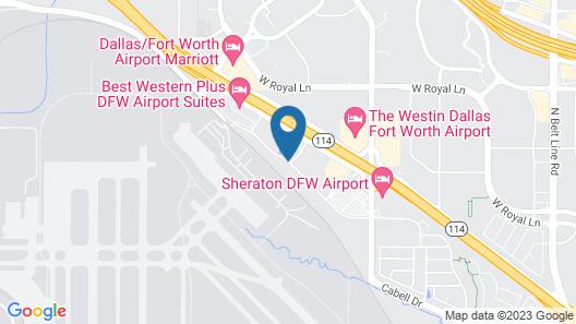 Clarion Inn & Suites DFW North Map