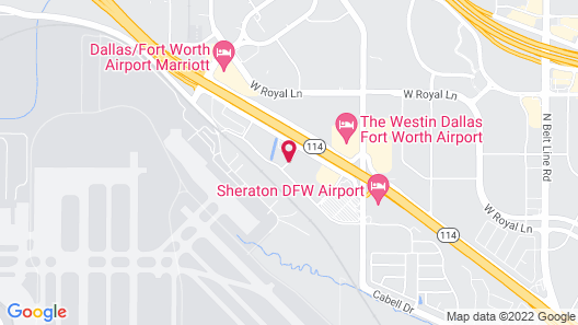 Extended Stay America - Dallas - DFW Airport N. Map