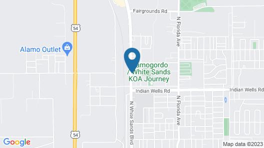 Satellite Inn Map