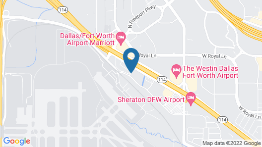 Homewood Suites by Hilton Irving - DFW Airport Map