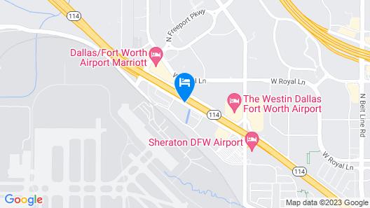 La Quinta Inn & Suites by Wyndham Dallas DFW Airport North Map