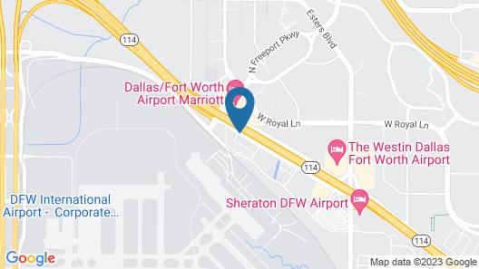 Best Western Plus DFW Airport Suites Map