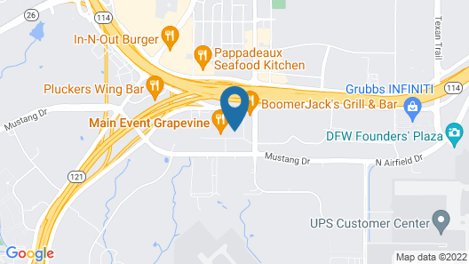 Holiday Inn Express & Suites DFW-Grapevine Map