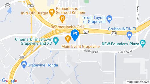 Hilton Garden Inn DFW North Grapevine Map