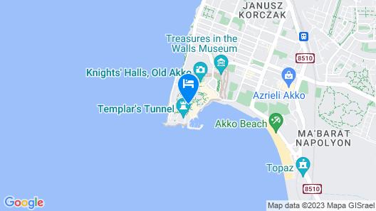Arabesque Arts & Residency Map