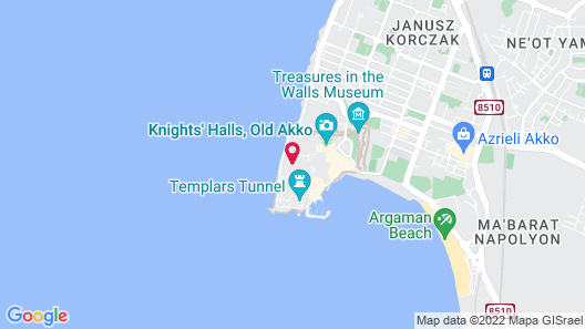 The Efendi Hotel Map
