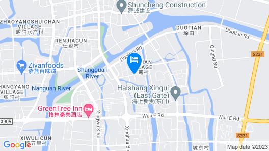 GreenTree Inn Taizhou Xinghua Bus Station Express Hotel Map