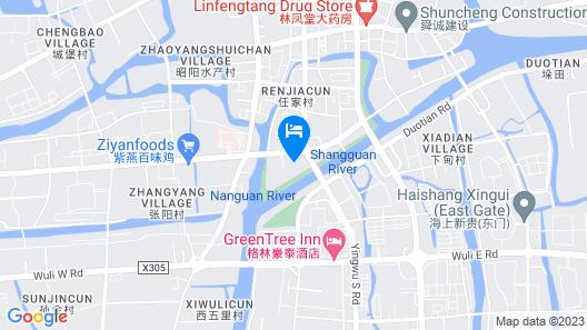 GreenTree Inn TaiZhou XingHua WuLi Road WuLi Bridge Express Hotel Map