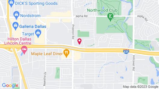 Holiday Inn Express & Suites North Dallas at Preston, an IHG Hotel Map