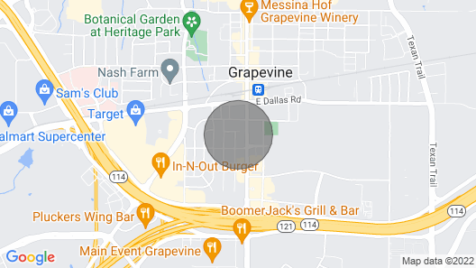 Texas Corporate Housing Professional Apartment Map