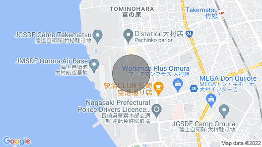 Single Nonsmoking / Omura Nagasaki Map
